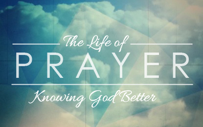 The Life of Prayer Series 18